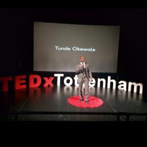 Tunde Okewale_TEDx Tottenham