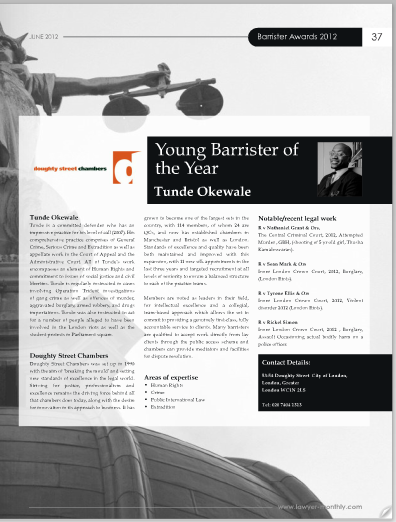 Young Barrister of the Year