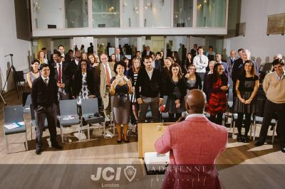 Tunde Okewale at JCI
