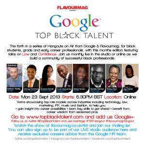 Google Top Black Talent